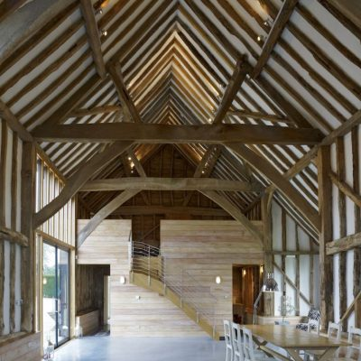 Conversion of Grade 2 listed barn to house
