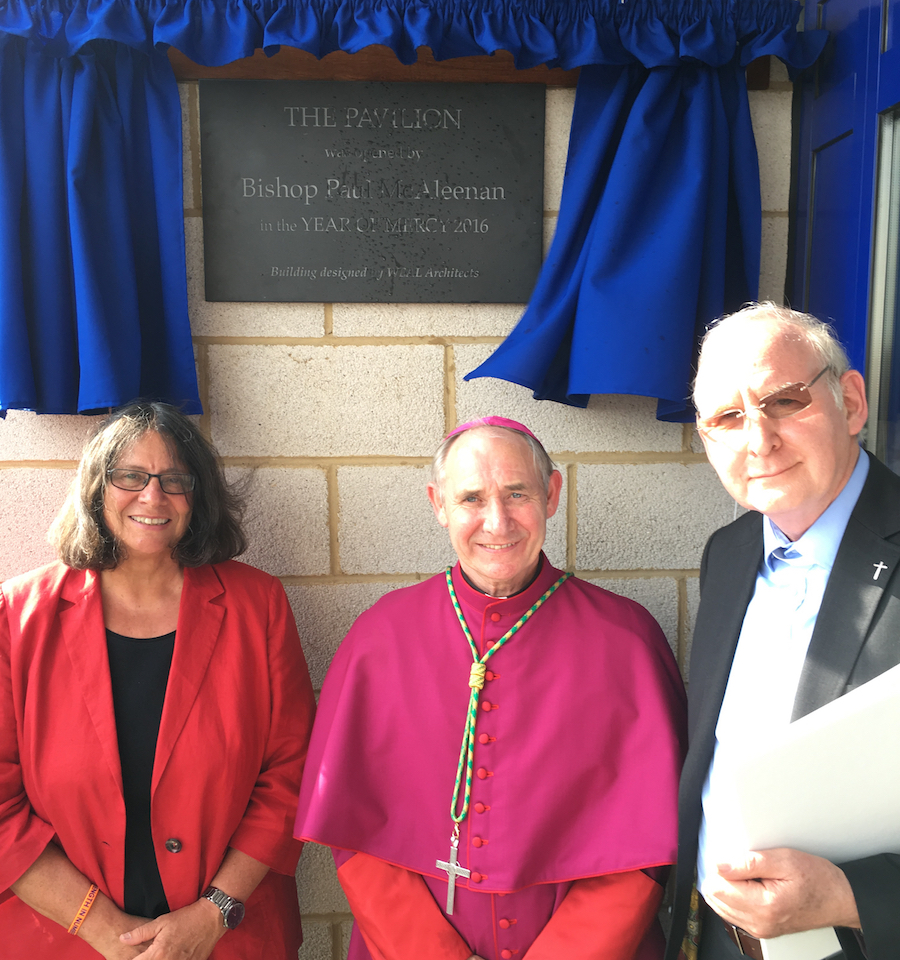 'The Pavilion' opened by Bishop Paul McAleenan