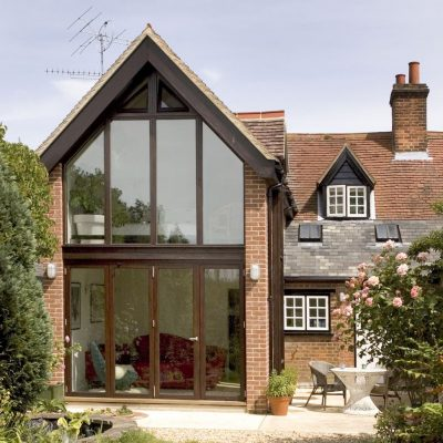 Extension to Victorian terraced cottage